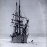 The Belgica spending a winter in Antarctica