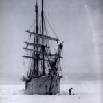 The Belgica spending a winter in Antarctica