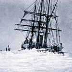 The Belgica stuck in ice