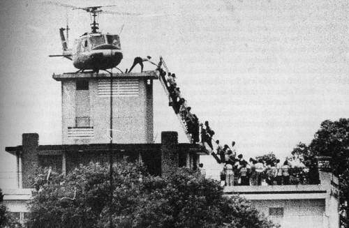 Evacuating the US embassy moments before Saigon fell to the Viet Cong