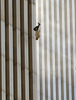 Man plunging to his death after jumping off one of the Twin Towers