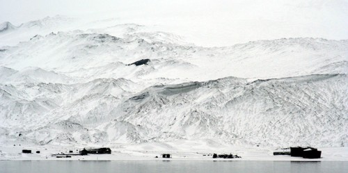 The Black and White World of Deception Island, Antarctica