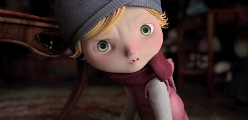 Animation: Alma lured in a toyshop
